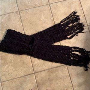 Unused oversized scarf